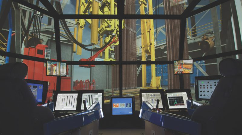 DrillSIM:6000 advanced drilling and well control simulator